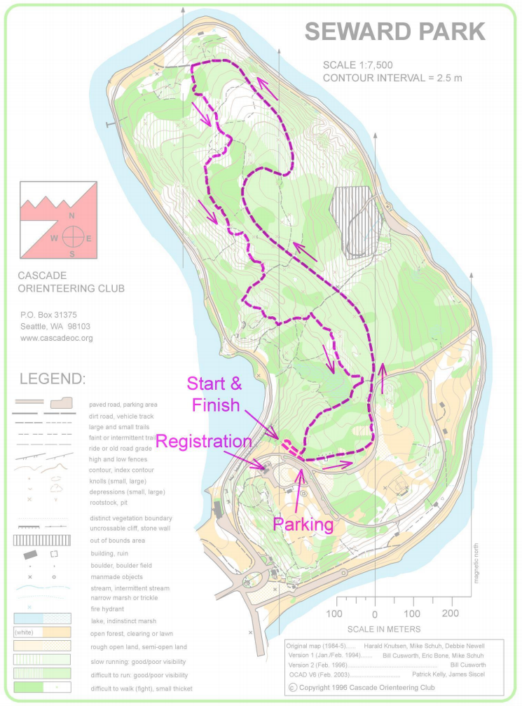 Seward Park Map Seward Sizzler   Northwest Trail Runs Seward Park Map