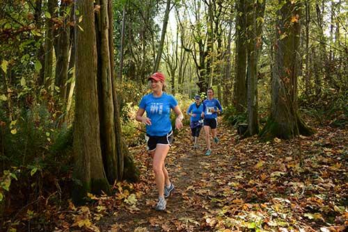 Carkeek Trail Run