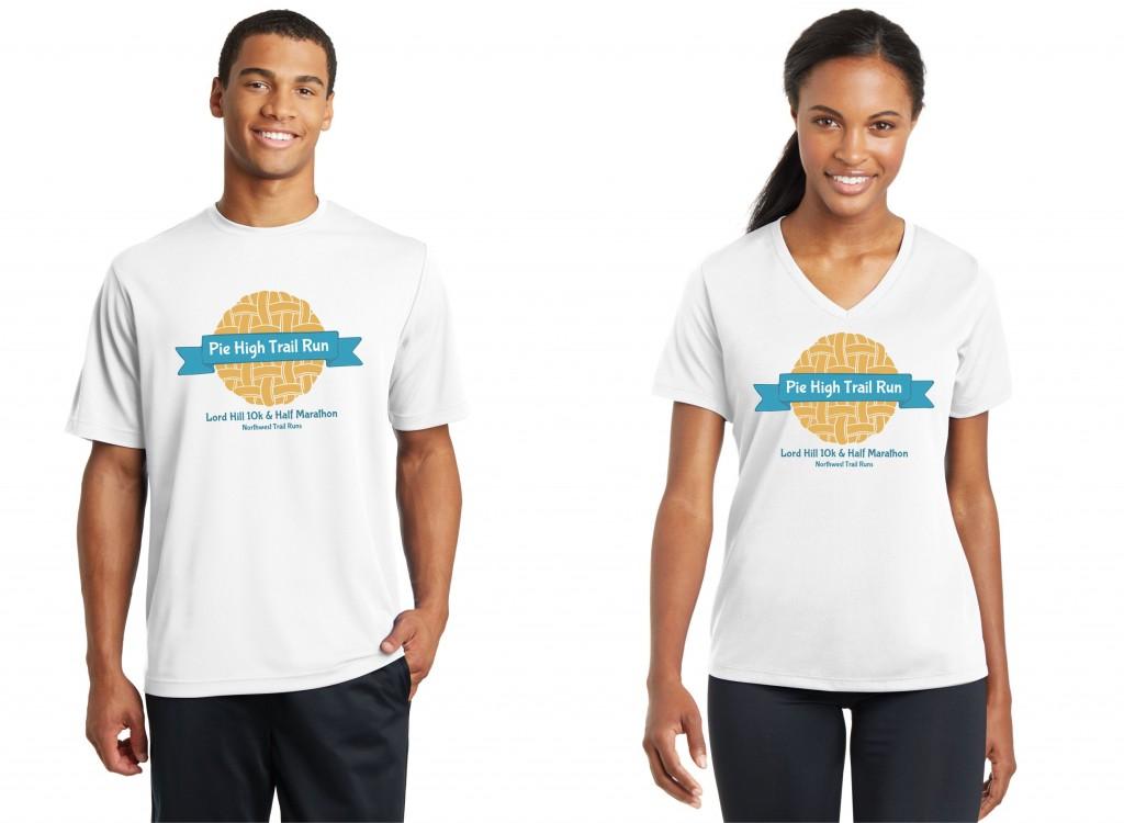 Pie High Trail Run shirts